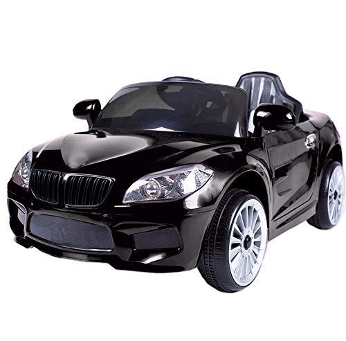 ATAA Coche eléctrico niños con Mando y batería 12v Estilo BMW X5...