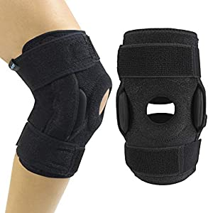 IMPROVED KNEE STABILITY AND SUPPORT: The Vive hinged knee brace provides comfortable support while recovering from injuries or surgeries, and additional stability for weak or arthritic knees. The reversible, nonslip knee brace also provides soothing ...