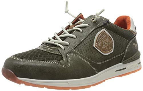 MUSTANG Sneaker da uomo 4154-301-700, Verde (Verde scuro 700), 47 EU