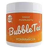 Bubble Tea Popping Boba Orange Molecular Caviar 800g