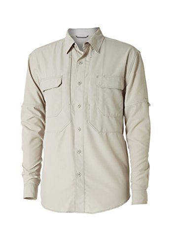 Royal Robbins Men's Bug Barrier Expedition l/S, Soapstone, X-Large