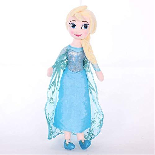 Yzhome Frozen Elsa Princess Niños Muñeca Juguete Muñeca Peluche Juguete 40 Cm, Niña Bebé Regalo De Cumpleaños Muñeca De Peluche Anna Kid Muñeca De Trapo Encantadora