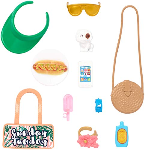 Barbie Storytelling Sunday Funday Accessories Fashion Pack PLAYSET GHX33