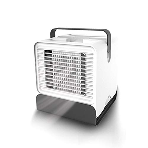ghfcffdghrdshdfh Air Cooler Fan Air Conditioner Humidifier Cooling Fan Mini Table Air Cooler White