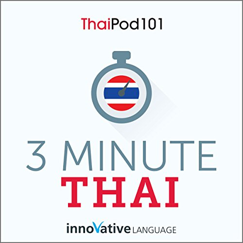 Couverture de 3-Minute Thai