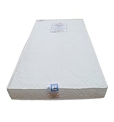 Deluxe Spring Cot Bed-Junior Bed Sprung Mattress 140x70 x 10CM THICK British Made