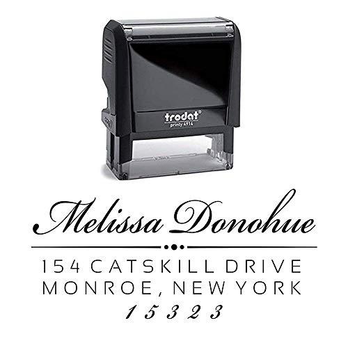 Custom Address Stamp | Return Address Stamp | Personalized Address Stamp | Self-Inking Stamp | Donohue Address Stamp