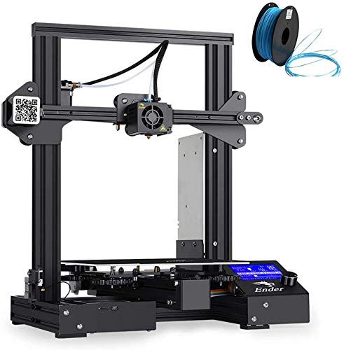 SAFGH 3 Pro 3D Printer LCD Display Printer Resume Printing Size 220 * 220 * 250mm Give 1 3d Filament As a Gift