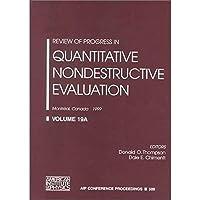 Review of Progress in Quantitative Nondestructive Evaluation: Volume 19 A/B: Montreal Canada 25-30 July 1999 (AIP Conference Proceedings/Review of Nondestructive Evaluation) (v. 19)【洋書】 [並行輸入品]