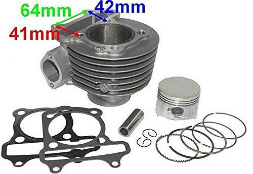 UNTIMERO 150 CCM Zylinder KIT Set KOMPLETT für HISUN HS150ATV-S Quad ATV 150 Zylinderkit