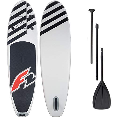 F2 Inflatable Allround Air 10'0'' Stand Up Paddle Board Set 906421 White/Black