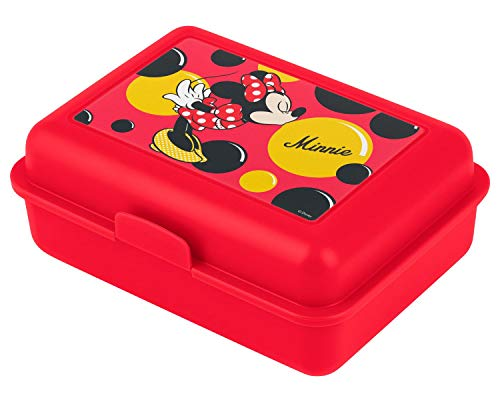 baagl Lunchbox voor kinderen voor school – lunchbox voor meisjes, kleuterschool – snackbox (Minnie)