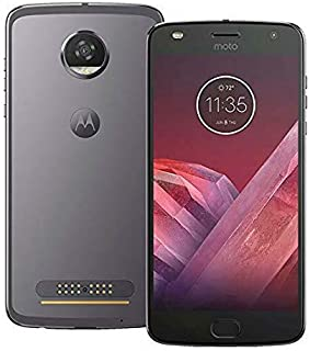 Motorola Moto Z2 Play XT1710-06 - 64GB Single SIM Factory Unlocked Smartphone (Dark Gray - International Version)