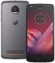 Motorola Moto Z2 Play XT1710-06 - 64GB Single SIM Factory Unlocked Smartphone (Dark Gray - International Version)