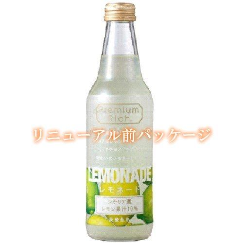 『川崎飲料 PremiumRichレモネード 340ml×24本』の1枚目の画像