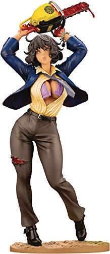 Kotobukiya Texas Chainsaw Massacre: Leatherface (Dance Version) Bishoujo Statue, Multicolor