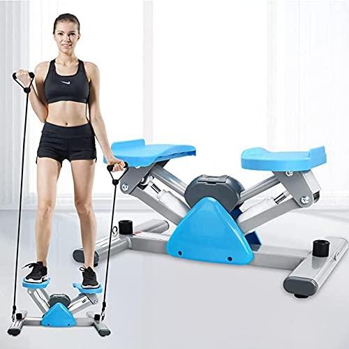 XIAOHUA-UK Máquina de Pedal de Mute, Mini Mute, Equipos de Fitness Hidráulicos, Equipos de Fitness Interior, Máquina Stovepipe (Color : C)
