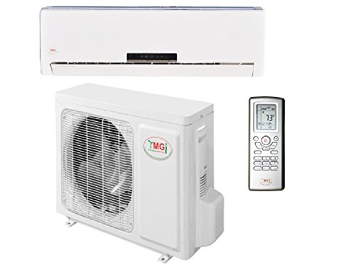 YMGI 36000 BTU 16 SEER Ductless Mini Split DC Inverter Air Conditioner Heat Pump System - 208-230V...