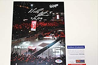 Nicklas Lidstrom Autographed Signed Jersey Retirement 8x10 Photo PSA/DNA Authenticated Coa