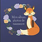 Album photo naissance - Album photo pour bébé - Album à compléter: Cadeau naissance : Album photo bébé fille/garçon - souvenir à compléter - format carré