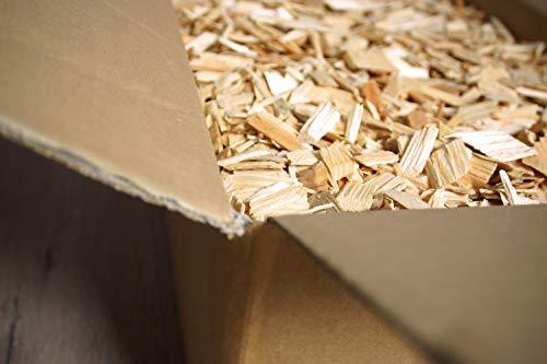 Holzhackschnitzel für Ofen und Garten, 10 kg, im Karton, auch als Deko verwendbar