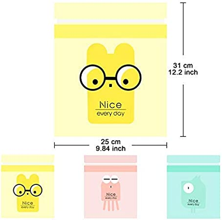 Watertight Disposable Stick to Anywhere -Leak Proof Vomit Bag Beautiful Kitchen Storage Bag. RJLPKE Easy Stick-On Disposable Car Trash Bags Blue