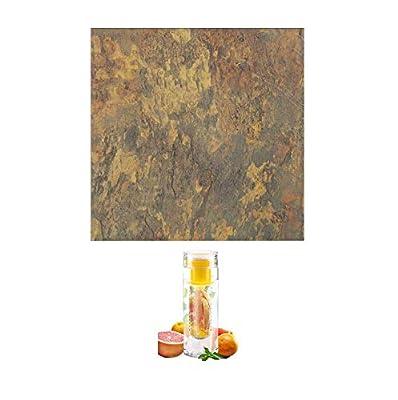 Achim Home Furnishings FTVMA44420 Nexus 12-Inch Vinyl Tile, Light Slate Marble, 20-Pack