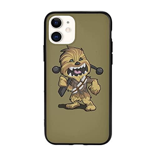 Fashion Che-Wb-Acca C-3-P-O St-Ar W-Ars - Carcasa para iPhone 11 / Pro/Pro Max Tpu de cristal para iPhone 11 Pro Max-6.5
