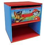 Fun House 712533 - Mesita de Noche (Madera de contrachapado de Densidad Media, 33x30x36cm), diseño de La Patrulla Canina, Color Azul