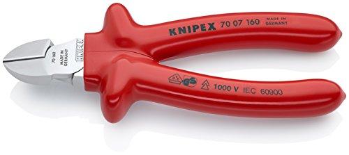 KNIPEX Alicate de corte diagonal aislado 1000V (160 mm) 70 07 160