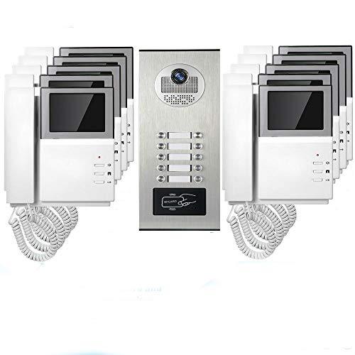 GW Videoportero 4.3 Pulgadas Videoportero Teléfono de...