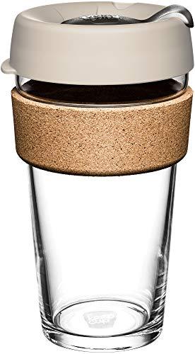 KeepCup BFIL16 Brew Cork gehärtetes Glas, 454 ml
