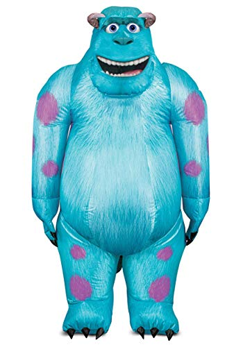 Monsters Inc Adult Sulley Inflatable Costume Standard