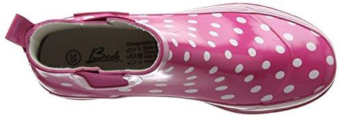 Beck Lifestyle Damen Gummistiefelette, Pink - 5