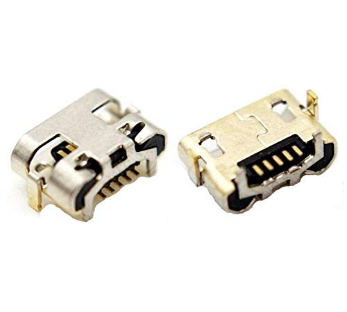 For Micro USB DC Socket Charging Block Port For Huawei MediaPad T3 7.0 7' BG2-W09  LENOVO TAB 3 7' TB3-710F ZA0R   Alcatel 3V 6.7'' 2019 5032W FixarMobile