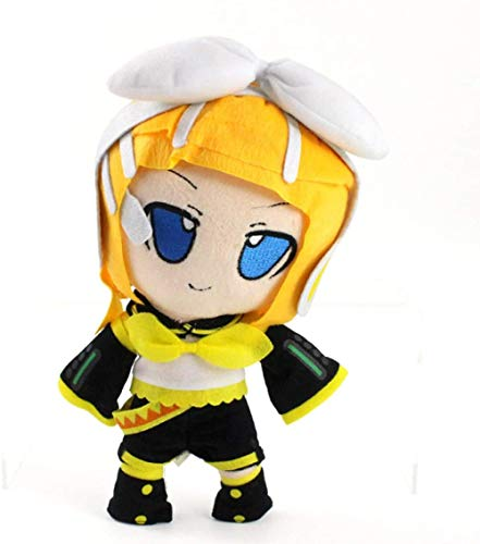 N-L Plush Toys Hatsune Miku Vocaloid Kagamine Rin Len Cute Soft Figure Cartoon Plush Doll Baby Toy 28 cm