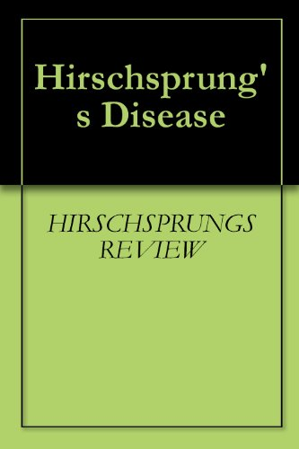 Hirschsprung's Disease (English Edition)