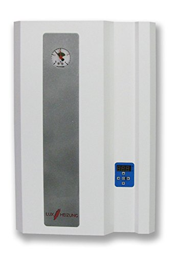 Elektro Heizkessel Heiztherme 12kW Merkur elektrische Heizanlage Elektro-Zentralheizung - elektrischer Wasserkessel LUXHEIZUNG