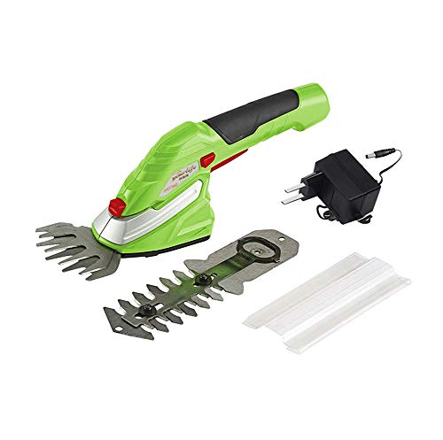 Fantastic Prices! 2 in 1 Grass and Hedge Trimmer -3.6V Battery Powered Cordless, Interchangeable Bla...