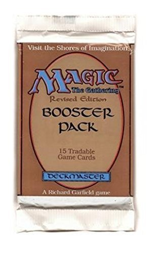 Magic the Gathering Booster Pack ~ Revised Edition