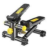 YDHWY Gesundheit Fitness Mini Stepper mit Band, Haushalt Gym Hydraulic Mute Stepper Multifunktions Pedal Indoor Sports Stepper Beine for Anfänger