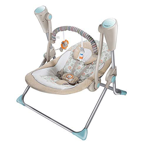Great Price! Soothing Portable Swing,Comfort Electric Baby Rocking Chair with Remote, Intelligent ...