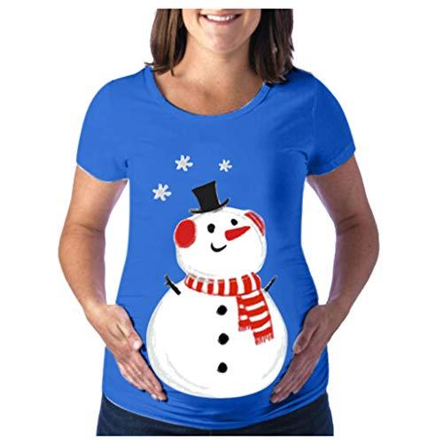 Likecrazy Umstandsmode Damen Weihnachten Umstandstop Schwangere Matern