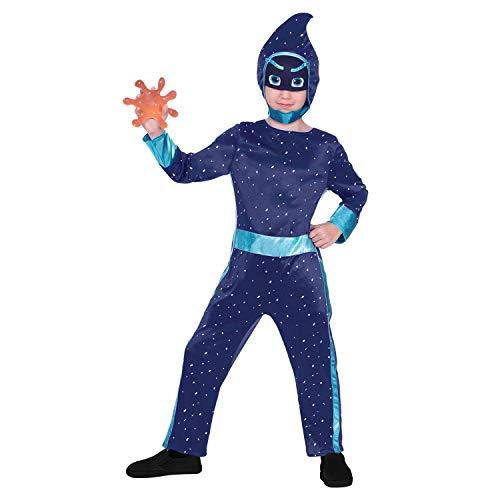 amscan 9904234 - Costume per bambini PJ Masks Ninja, Carnevale, Halloween