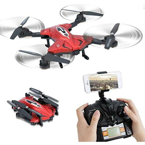 SkyCo RC Foldable Drones Helicopter with Video & Photo Camera Drone,2.4ghz 6-axis Gyro Rc Drones for...