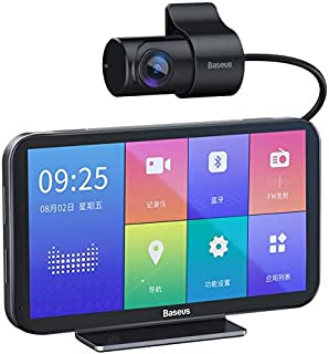 جهاز تسجيل فيديو وصوت خاص بالسيارة من بيسيوس كلاود (نظام تي مول جيني مدمج + شاشة لمس مقاس 4.39 انش + نظام 4 جي + ايه اتش د...