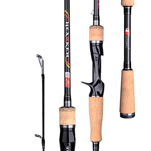 WEMUR Caña de Pesca caña de Pescar Spinning Casting señuelo Fuji Vara Baitcasting de Carbono 3-50g 3.00m15-50g Recorrido de Rod Hilado (Size : Casting 1.68m 3-18g)