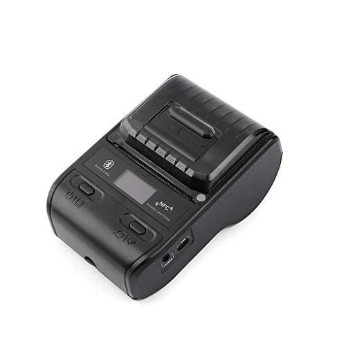 YGX Impresora portátil de código de Barras, Impresora térmica de 58 mm Bluetooth, Etiqueta de código de Barras POS Fabricante de Impresora portátil, Apto para Android/iOS/Win/Mac