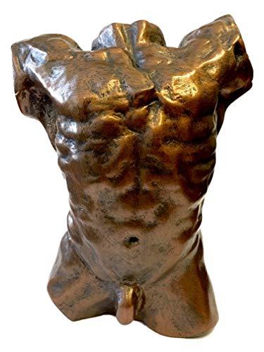 Parastone Rodin Male Nude Torso de The Falling Man Museum Estatua coleccionable 6H