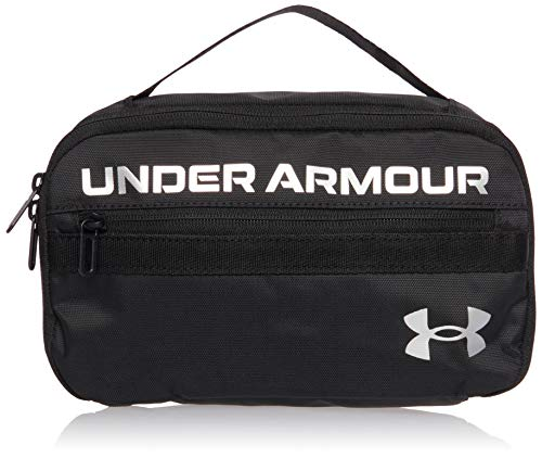 Under Armour Contain Travel Kit, Black/Black/Metallic Silver (001), One Size